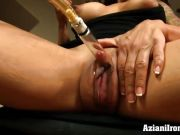 Fitness MILF uses clit pump and masturbates