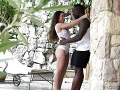 Anita Bellini ass fucked by a black cock