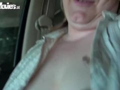 Fat Old Lad Fucked Outdoors Then Gizzed On