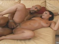 Charley Chase gets her face showered with warm jizz