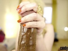 Candy May - BBC Jerk off
