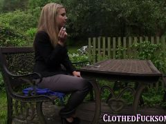 Jizz Mouth Clothed Glam
