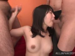 Kinky  gets dildos shoved in her tight cunt