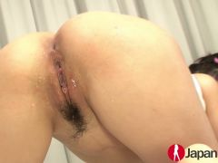 Cock sucking Haruna Katou gets fucked until squirting
