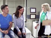 Anal fuck lesson from sexy doctor Christie Stevens