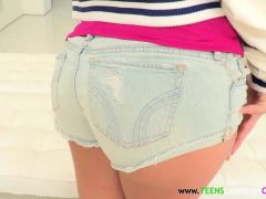 Round Booty Spex Teen Facialized By Bigcock