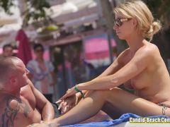Horny Topless Beach Girls Voyeur Video HD