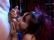 Asian babe Katsuni takes cock in her ass