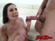 ZTOD Kendra Lust takes her big tits out for a fucking