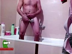 Soap shower and hot milk before going bed ADR065