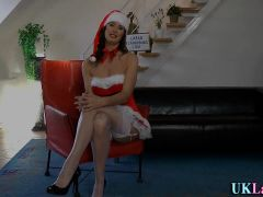 Stockings slut christmas