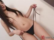 Cute Asian Solo Lita Striptease