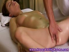 Massage Model Gets Worked