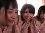 Kimono nippon babe queens on guys face