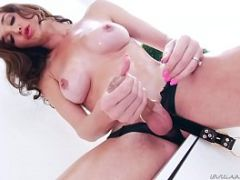 Busty trans-babe Jonelle Brooks - Ts Playground