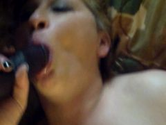 Blanche Thompson Taking Huge BBC Like a True Whore