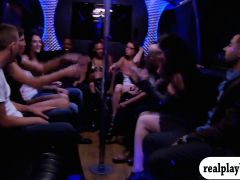 Swingers Swap Partners And Big Groupsex In The Red Room