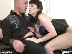 Daughter Catches Mom Rayveness Getting ASS FUCKED