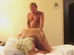 Mature Couple Has Sex and Films it