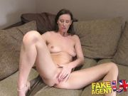 Fucking a hot MILF in the office