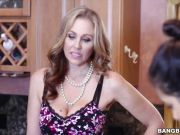 Stepmom Julia Ann has other plans for the maid
