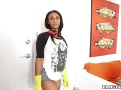 Arianna Knight rides his pulsing inches