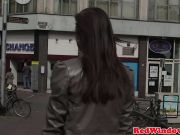 Indian hooker doggystyled in holland