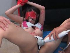 Asian teenie gets toyed and rammed Video 3