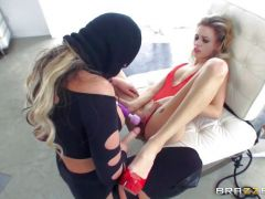 Dominatrix Phoenix Marie gets her hands on Blake Eden