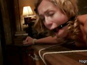 Sexy Audrey Gets Tied Up And Fucked Hard