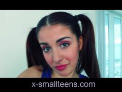 Sally Squirt young tiny skinny small teen pigtail schoolgirl