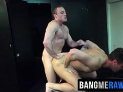 Sexy bear Beau and hot Jacob barebacking in the dungeon