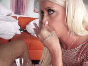 Riley Jenner: Blonde With Blue Eyes Fucked Anal