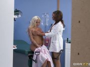 Male nurse gets seduced by Rikki Six and Tory Lane