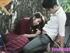 Young Thai Couple Outdoor Sex - FreeFetishTVcom
