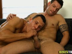 Bisexual cutie tongued