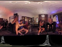 VR 360 Colombian swinger party orgy