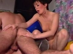 Two Women Get So Horny That They Need To Ride