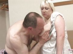 Mature Jo Juggs Gets Big Tits And Pussy Fucked
