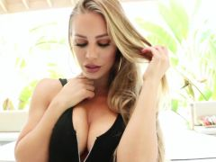 Nicole Aniston Shows Off Her Amazing Ass Then Gets A Good