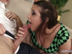 Plumper Angel Deluca loves getting fucked from behind