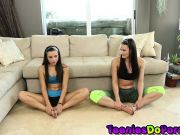 Creamed Fitness starring Kymberlee Anne and Karley