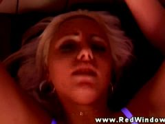 Real euro hooker in lingerie fucked and cant get enough