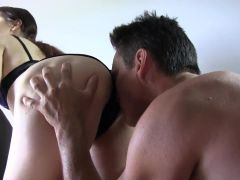 22yr old Torie getting her ass eaten by some pervert