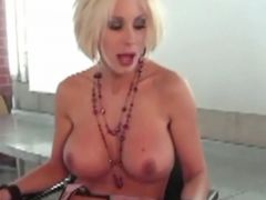 Puma Swede Gets Fucked With Strapon All Girl Threesome!