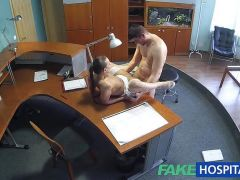 FakeHospital Sexy nurse heals patient with hard sex