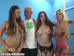 ImmoralLive Huge Tits Party! 3 Girls taking 3 Men!