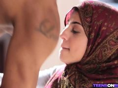 Arab Hijab Teen Takes BBC