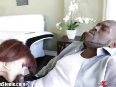 Syren Demer takes this huge dick deep in her hot ass