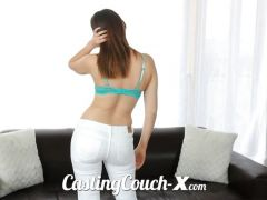 Casting Couch-X Model with hot ass fucks on cam 4 money